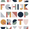 alphabet print for kids