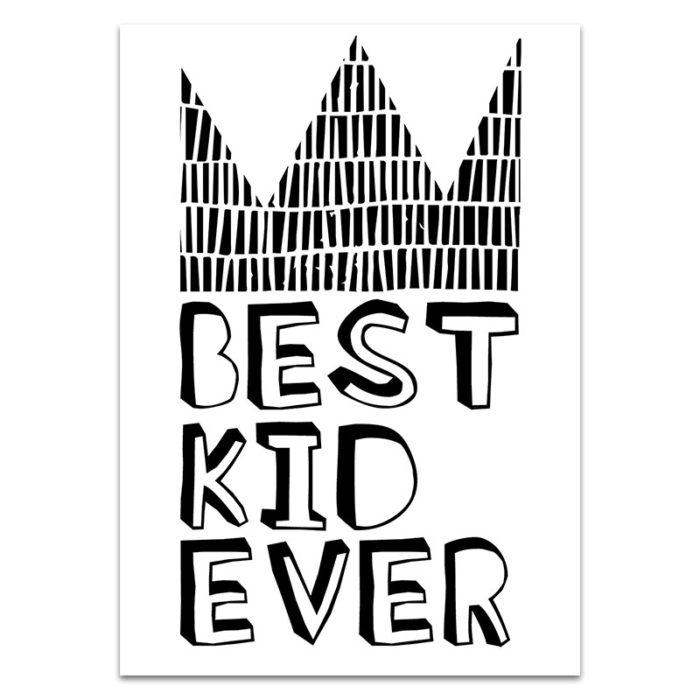 best kid ever print