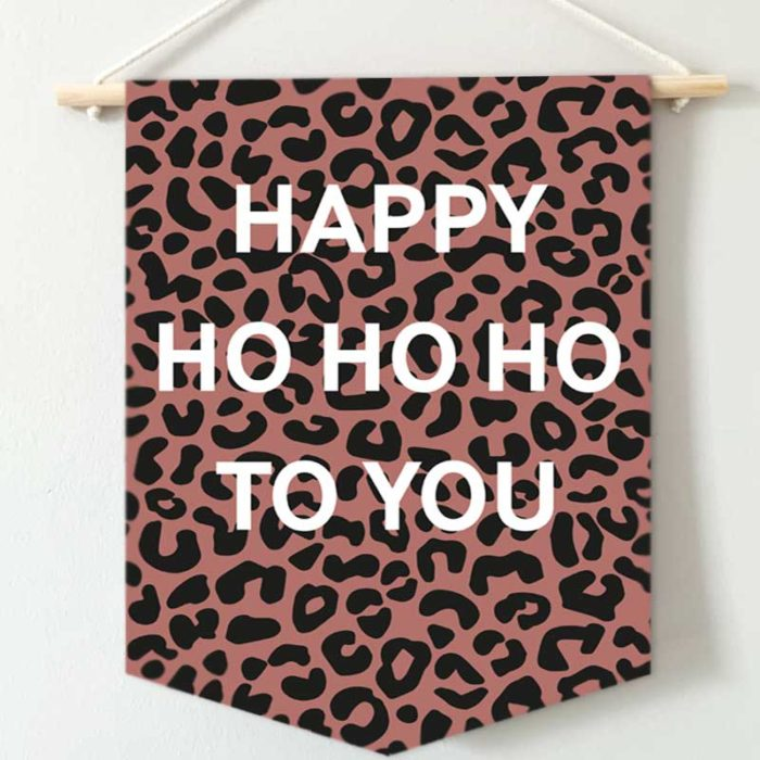Happy ho ho ho to you banner