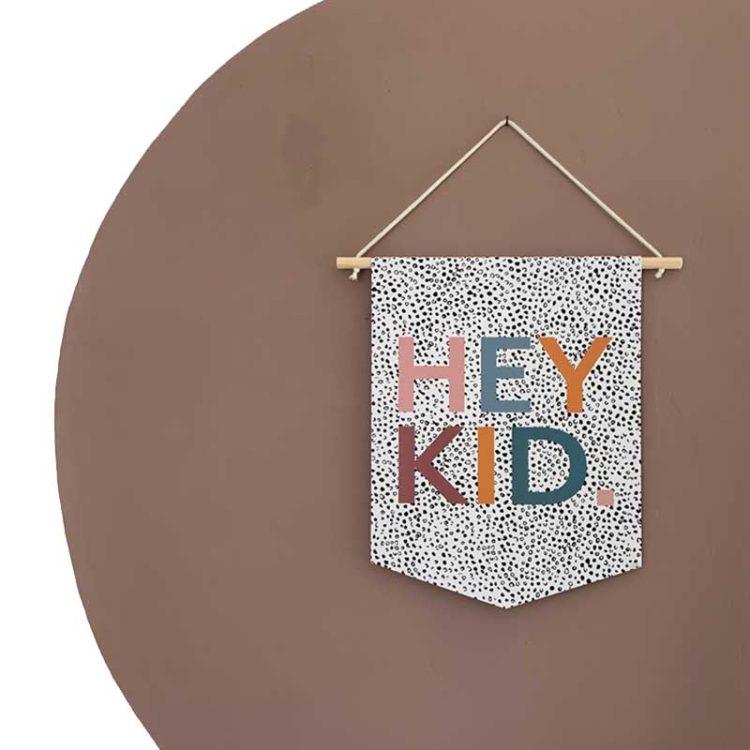 Hey Kid Banner