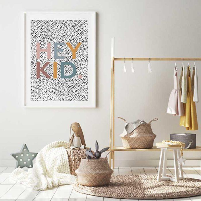 Hey Kid Print