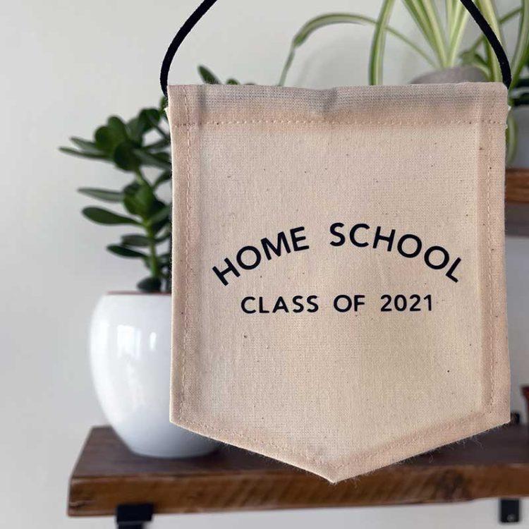 Home School Class of 2021 Mini Banner