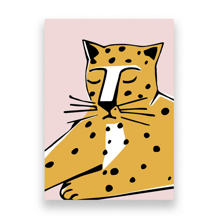 Bold Leopard Print