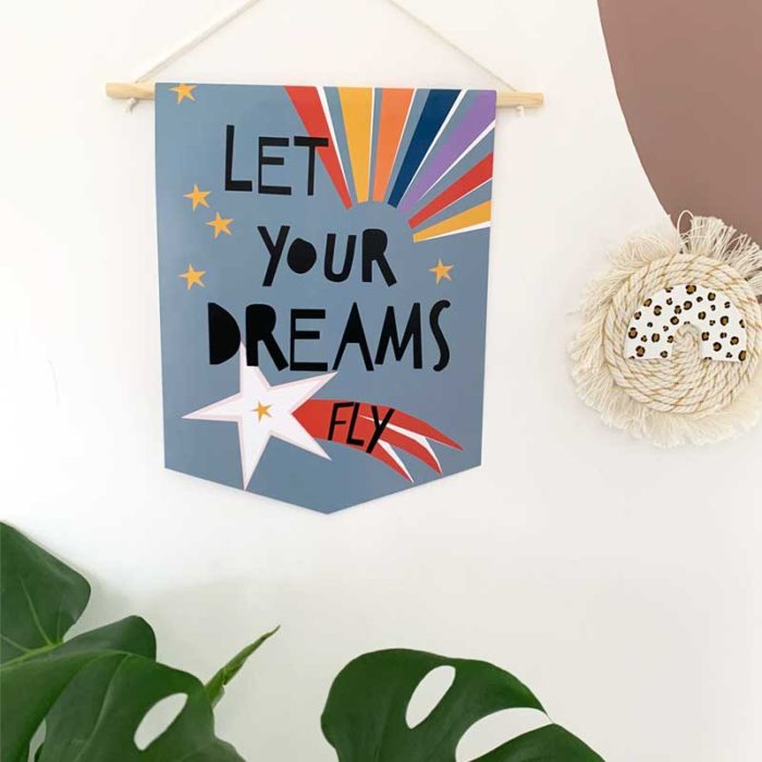 Let Your Dreams Fly Banner