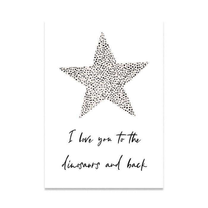 Personalised Star Print