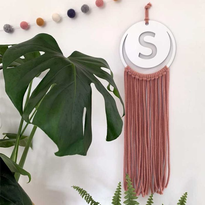 Initial Wall Hanging