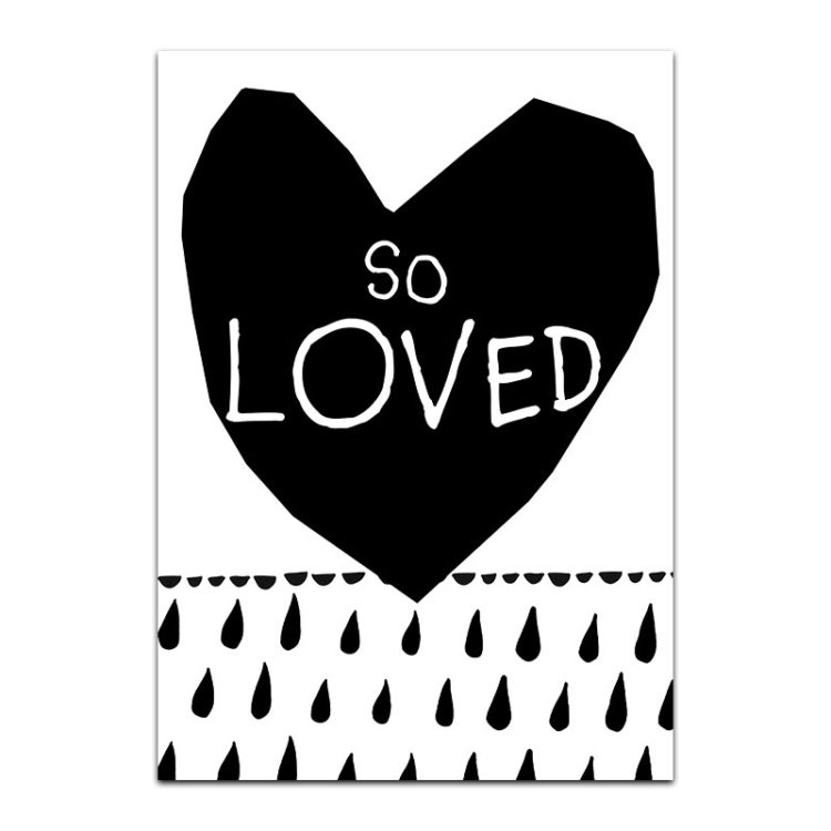 So Loved Print