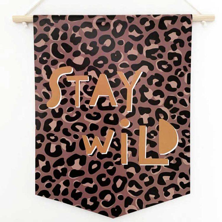 Stay Wild Banner