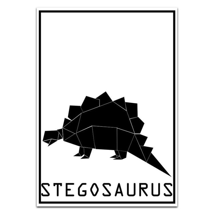 Stegosaurus Print