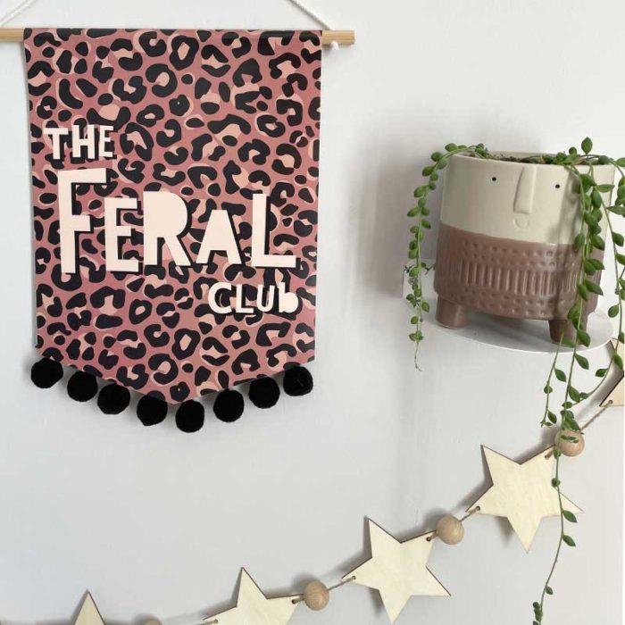 The Feral Club Banner