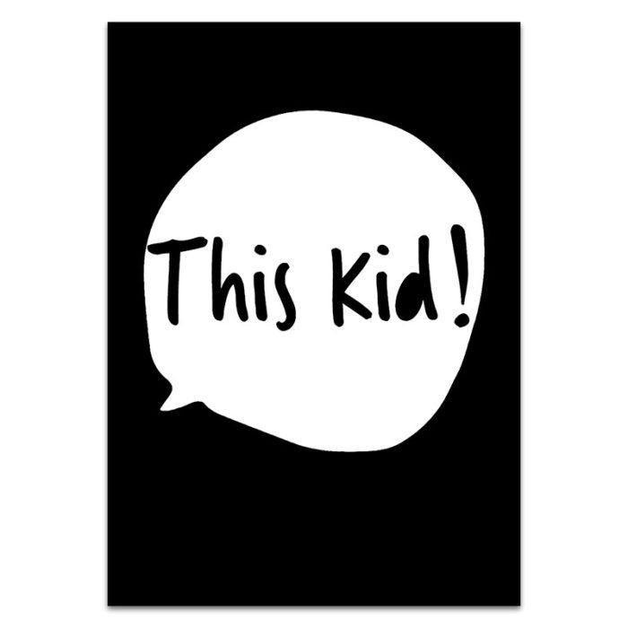 this kid print
