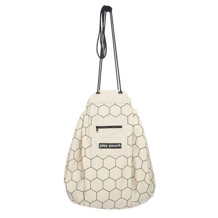 honeycomb printed play pouch